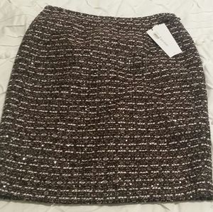 Calvin Klein women's tweed skirt